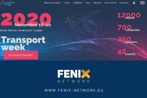 FENIX TALKS ITS AND LOGISTICS AT RUSSIAN TRANSPORT WEEK