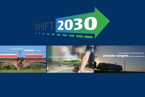 FENIX Member shift2030 welcomes the European Year of Rail and urges decision maker in transport and logistics to take action